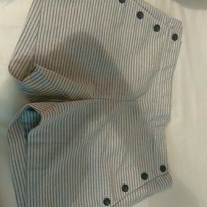 Bannan republic shorts w/buttons